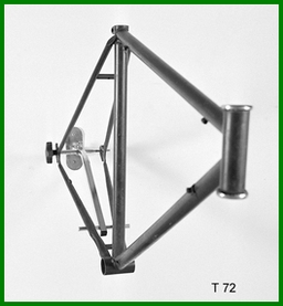 Type 72 Wall Mounted Frame Stand - Single Frame