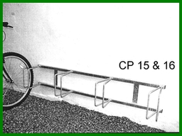 CP15 Wall Mounted Roll-In Stand 4 Cycles