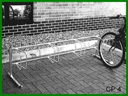 CP4 Roll-In Parking Stand 4 Cycles