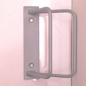 KP18  1 Cycle Wall Mount Rack (45 Degree Angle)
