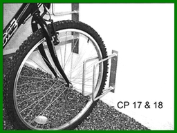 CP17 Wall Mounted Roll-In Stand 1 Cycles