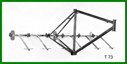 Type 73 Wall Mounted Frame Stand - 6 Frames